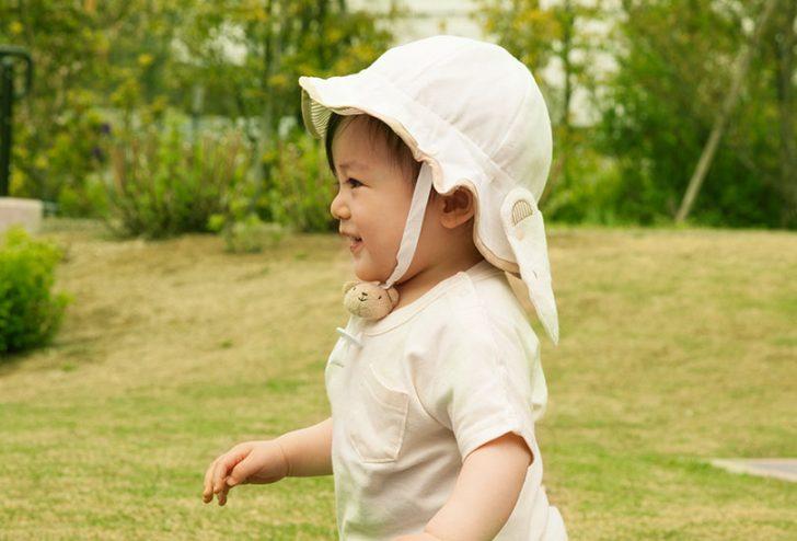 cafd4400393f6 夏の紫外線対策に!赤ちゃんを守るベビー帽子おすすめ10選